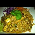 Australian Spicy Noodle Salad with Tofu and Peanut Dressing Appetizer