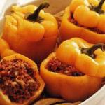 Australian Peppers Stuffed with Meat and Tomato Appetizer