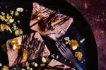Australian Peanut Butter And Milk Chocolate Terrine With Peanut Brittle Recipe Dessert