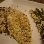 American Parmesan Herb Panko Crusted Flounder Alcohol