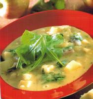 American Potato Apple and Arugula Soup Soup