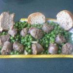Spanish Peas and Sausage Stew Appetizer