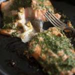 American Salmon Roasted in the Oven Dessert