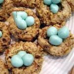 American Nests of Chocolate for Easter Dessert