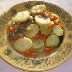 American Lamb Stew with Potatoes Onions and Herbs Appetizer