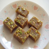 Canadian Chick Pea Fudge Dessert