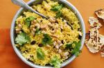 Indian Turmeric And Cashew Pilaf Recipe Appetizer