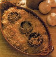 American Butter Beans And Mushrooms Au Gratin Dinner