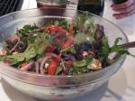 American Christmas Tossed Salad Appetizer