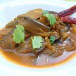 Indian Indian Recipe Curry of Eggplants Appetizer