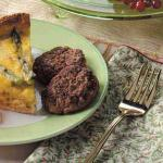 South African Spiced Sausage Patties Appetizer