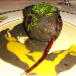 French Filet Mignon Bordelaise filet Mignon in Bordeaux Wine Sauce Alcohol