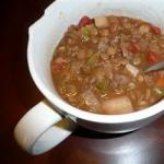 French Hearty Lentil Soup Recipe Appetizer