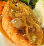 American Chicken With Shallots in White Wine Dinner