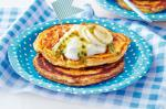 American Banana And Vanilla Wholemeal Pancakes Recipe Dessert