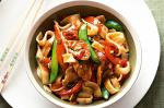 Chinese Hoisin Chicken And Rice Noodle Stirfry Recipe Appetizer