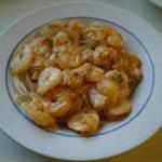 Canadian Cajun Shrimp Linguine Dinner