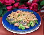 American Linguine With Smoked Salmon Creamy Sauce Dinner