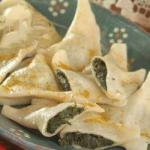 French Pierogi with Spinach and Feta Dinner