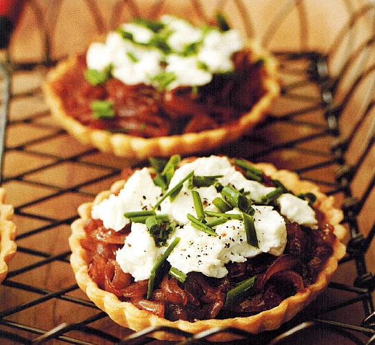 ... onion s and goat cheese caramelized onion and goat cheese tarts many