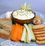 American Roasted Garlic Cheese Spread 1 Appetizer