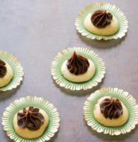 American Thumbprints with Mocha Icing Dessert