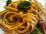 American Noodles With Spicy Peanut Sauce 2 Dinner