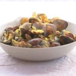 Spanish Soup of Mussels with Saffron Appetizer
