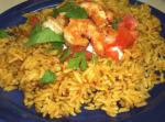 Indian Curry Chicken and Tomato Pilaf Appetizer