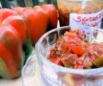 Spiced Ruby and Emerald Indian Pepper Relish  Chutney recipe