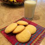 American Lemon Cloud Tea Cookies Dessert