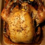 American Amazingly Juicy and Flavorful Roasted Chicken Dinner