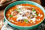 Australian Pork And Fennel Meatball Soup With Pasta Recipe Appetizer