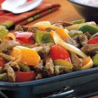 Chinese Stir-fry Peppers Appetizer