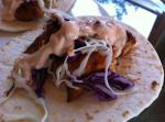 Mahi Mahi Soft Tacos with Chipotle Yogurt Sauce En recipe