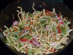 British Oriental Fried Noodle Salad 1 Dinner