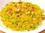 Indian Pilaf With Peas and Raisins Dinner