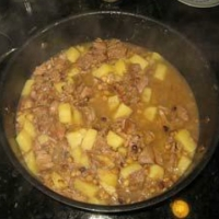 Indian Mutton Stew Soup