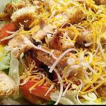 Mexican Southwestern Grilled Chicken Salad BBQ Grill