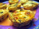 American Broccoli  Cheddar Mini Quiches Dinner