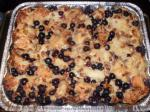 Italian Blueberry Pecan Bread Pudding With Amaretto Sauce Appetizer