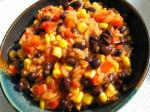 American Bbq Black Beans and Rice Dinner