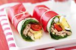 British Tuna Nicoise Wraps Recipe Appetizer