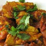 Indian Indian Chicken Curry bhuna Dinner