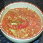American Homemade Minestrone Soup Appetizer
