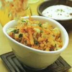 Indian Valley with Cauliflower and Carrots Appetizer