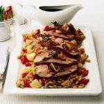 American Leg of Lamb with Flageolets Dinner