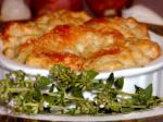 American Shallot and Garlic Tarte Tatin With Parmesan Pastry Appetizer