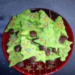 American Christmas Tree Biscuits Dessert