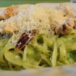 Canadian Linguine with Avocado Pesto Dinner